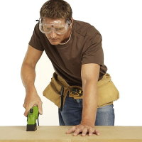 Cutting fibreboard