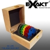 Exakt Blades - Wooden Case of 7 Blades (DC type saws only)
